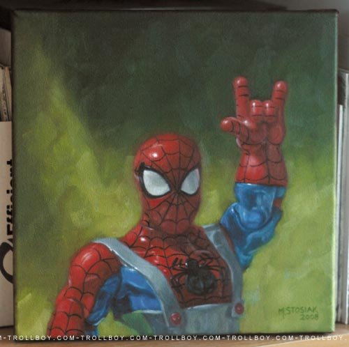 Rock \'n roll spidey
