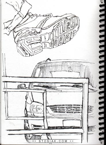 shoe van trollboy s blog 2008 Ford Hybrid ford but i enjoyed drawing it anyway i drew these with a new pen for me that i got a few weeks ago it s a pilot g tech 3 and its pretty sweet