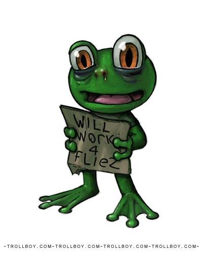 Begger Frog